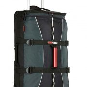 Black Wolf Velocity 85L Wheeled Gear Bag - Black