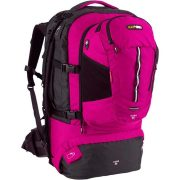 Black Wolf Cuba 65L EXPANDABLE Travel Pack & daypack  - Magenta