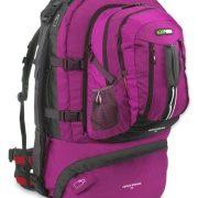 Black Wolf Cedar Breaks 75L Travel Backpack & Zip-off daypack - Magenta