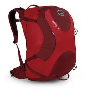 Osprey Ozone 46L Ultralight Carry On Travel Backpack - Red