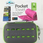 Sea To Summit Microfibre Pocket Towel Small - Lime