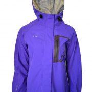 XTM Kimberly Woman's Waterproof Rain Jacket - Purple