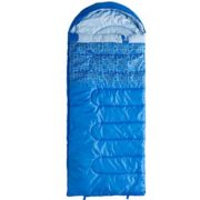 Caribee Moonshine 10c Kids hooded sleeping bag - BLUE