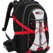 Black Wolf Tsunami AirTech Daypack Backpack - BLACK