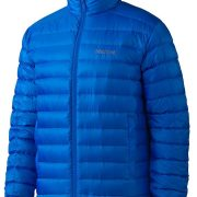 Marmot Zeus Mens Lightweight Puffer Down Jacket - Peak Blue