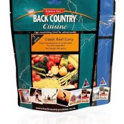 Back Country Freeze Dried Food Classic Beef Curry 5 Serve