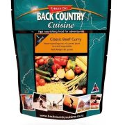Back Country Freeze Dried Food Classic Beef Curry 1 Serve