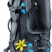 Deuter Traveller 60+10 SL Womens Travel Backpack - Black