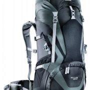 Deuter ACT LITE 50+10 Hiking Rucksack - Black/Granite