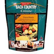 Back Country Cuisine Freeze Dried Food Chana Masala VEGETARIAN - 2 Serve