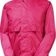 Rainbird Stowaway Waterproof Unisex Jacket - Raspberry