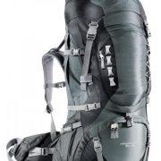 Deuter Aircontact PRO 60+15 Hiking Rucksack - Granite Black