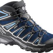 Salomon X Ultra Mid 2 GoreTex Men's Hiking Boots - Gentiane/Black/Blue