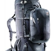 Deuter Quantum 70+10L Hybrid Travel Rucksack and Daypack - Black