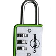 Lonely Planet Combination Travel Luggage Lock