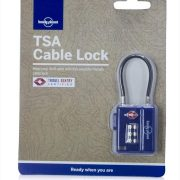 Lonely Planet TSA Travel Cable Lock Blue