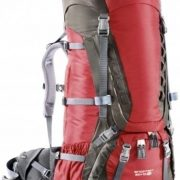 Deuter Aircontact 60+10 SL Womens Hiking Rucksack - Cranberry