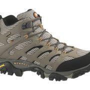 Merrell Moab Mid GoreTex Hiking Boots - Dark Tan