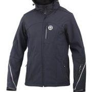 Vigilante Revelstoke Mens Soft Shell Weatherproof Jacket black