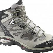 Salomon Comet 3D GoreTex Mens Hiking Boot - Titanium/Swamp/Turf Green