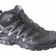 Salomon XA Pro Mid GoreTex Men's Fast Hiking Shoes - Black/ Asphalt