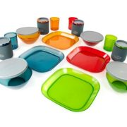 GSI Infinity 4 Person Deluxe Dinner Plate Tableset - Multicolour