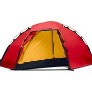 Hilleberg Soulo - 1 Person 4 Season Mountain Hiking Tent - Red