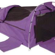 Sahara Nomad DOUBLE Dome Canvas Swag and Bag - PURPLE