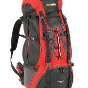Black Wolf Mckinley 65L Hiking Rucksack Backpack - Chilli