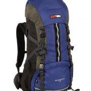 Black Wolf Mountain Ash 65L Hiking Rucksack Backpack - Blue