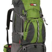 Black Wolf Bugaboo 60+10L Hiking Rucksack - Forest green
