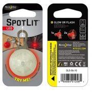 Nite Ize Spot Lit LED Carabiner Light - Red