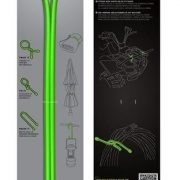 Nite Ize 32'' Gear Tie 2 Pack - Lime