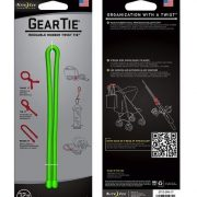 Nite Ize 12'' Gear Tie 2 Pack - Lime