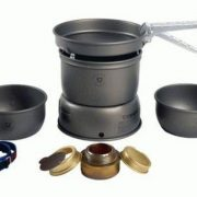 Trangia 27-1HA Small Hard Anodised Alloy Storm Cook Set