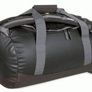 Tatonka 85L Large Weatherproof PVC Barrel Bag & Backpack - Black