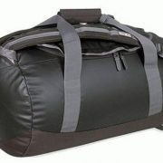Tatonka 45L Small Weatherproof PVC Barrel Bag & Backpack - Black