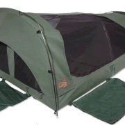 Sahara Wanderer Deluxe DOUBLE Dome Canvas Swag and Bag