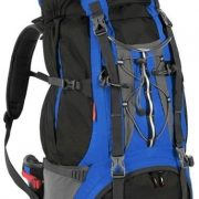 Black Wolf Mckinley 75L Hiking Rucksack Backpack - Blue