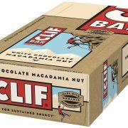 Clif Energy Bars White Chocolate Macadamia Box of 12 x Bars