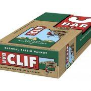 Clif Energy Bars Oatmeal Rasin Walnut Box of 12 x Bars