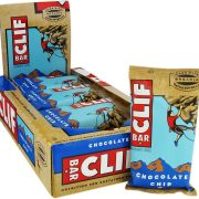 Clif Energy Bars Chocolate Chip Box of 12 x Bars