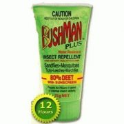 Bushman Plus Dry Gel Insect Repellent with DEET & Sunscreen