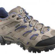 Merrell Moab Women's GoreTex Hiking Shoes - Aluminium/Marlin