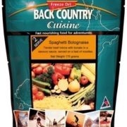 Back Country Cuisine Freeze Dried Food Spaghetti Bolognaise 2 Serve
