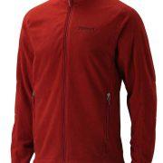 Marmot Rocklin Full Zip Mens Fleece Jacket - Dark Crimson