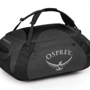 Osprey Transporter 65L Stowaway Gear Duffle Bag and Backpack - Grey