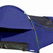 True Blue ROYAL XL Dome Bluey Canvas Swag - Royal Blue