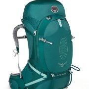 Osprey Aura AG 65 Womens Hiking Rucksack - Rainforest [Harness Size:Medium]