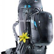 Deuter Quantum 60+10L Womens Hybrid Travel Rucksack and Daypack - Black